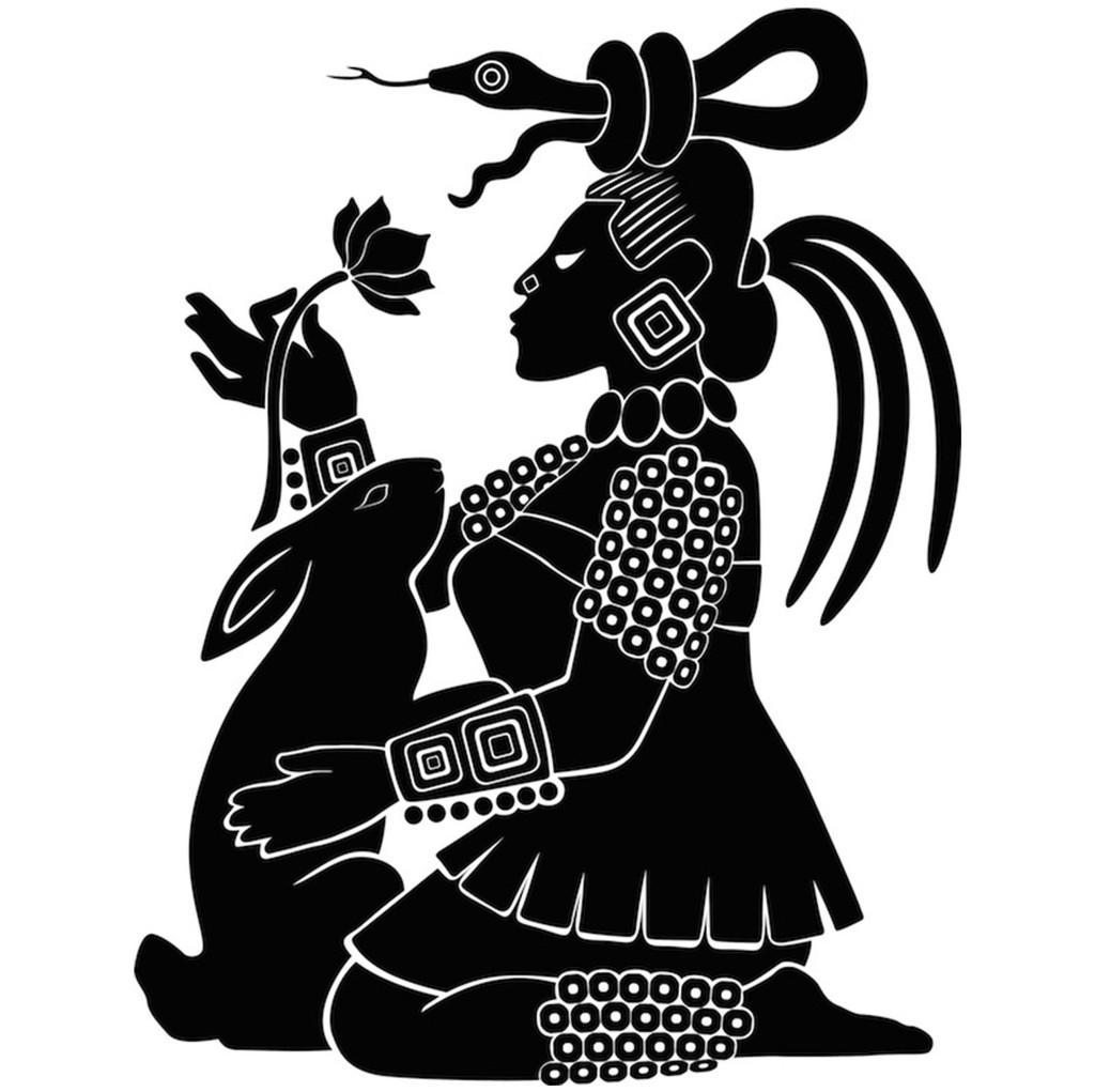 Mayan Moon Goddess Ix Chel