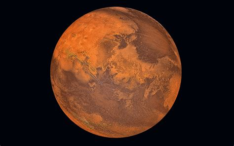 Picture of the planet Mars