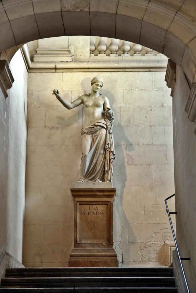 Statue of the Roman goddess Venus