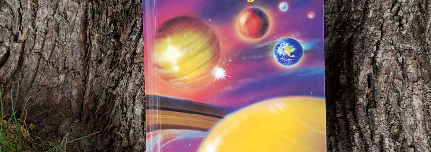 Image of the Where is Our Solar System with a crochet shooting star bookmark