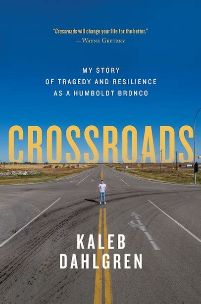 Book Cover for Crossroads: My Story Of Tragedy and Resilience As A Humboldt Bronco