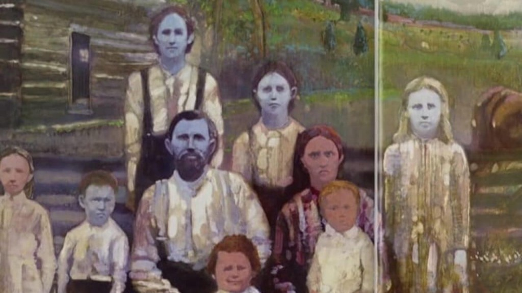 Historical image of the Fugate 'blue people' of the Kentucky Hills