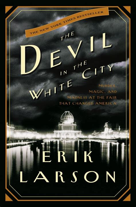 Book Cover for The Devil in the White City by Erik Larson
